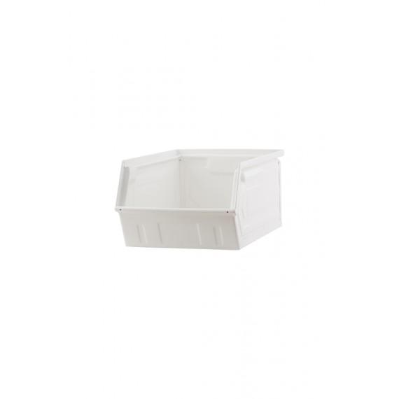 Contenedor blanco House Doctor 21x34x15 cm