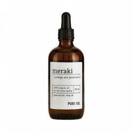 Aceite puro corporal Meraki 100% orgánico 100 ml