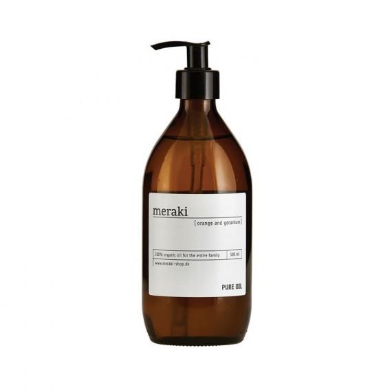 Aceite puro corporal Meraki 100% orgánico 500 ml