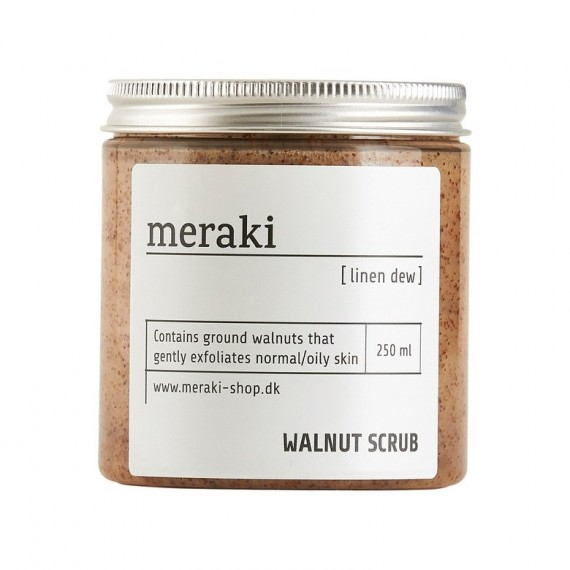 Sal exfoliante corporal Meraki para piel grasa 250 ml
