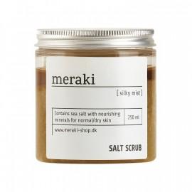 Sal exfoliante corporal Meraki para piel seca 250 ml