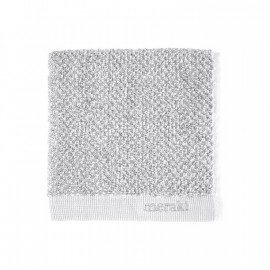 Toalla de tocador Meraki 100% algodón blanco-gris 30x30 cm