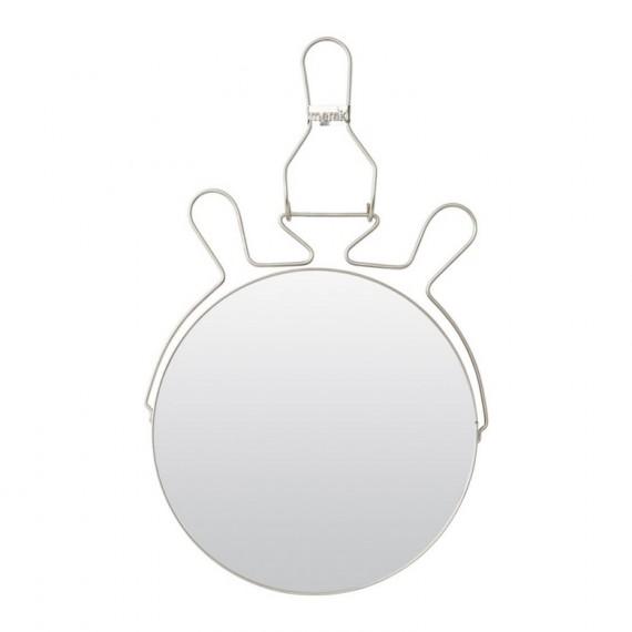 Espejo de baño Meraki 25 cm.