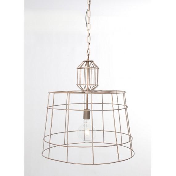 Lámpara de metal 60x60 cm