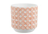 Maceta redonda de cerámica 18x18 cm
