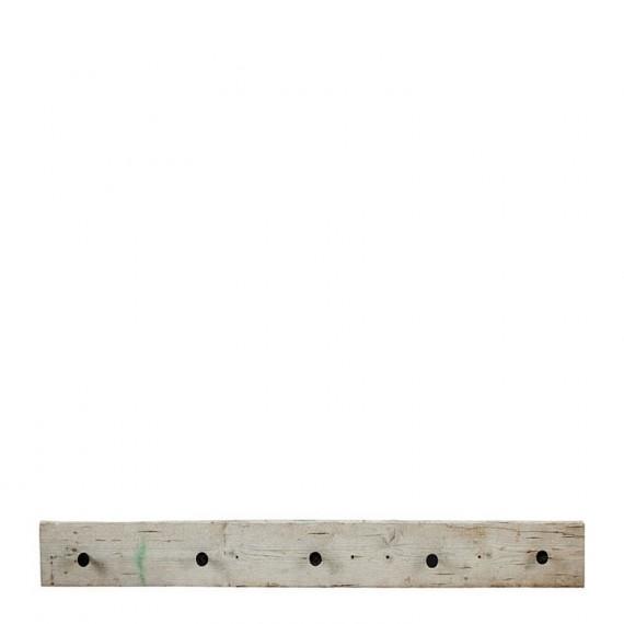 Colgador áspero natural 120x14 cm