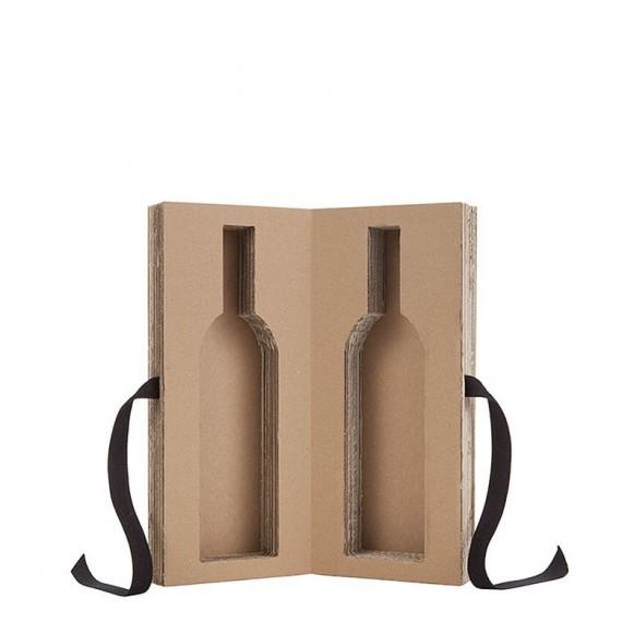 Caja porta botella