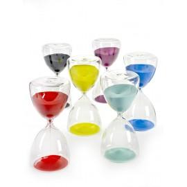 Reloj de arena extra grande azul de Serax 1h