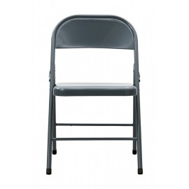 Silla plegable House Doctor gris oscuro