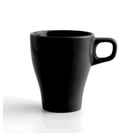 Mug taza color negro  con capacidad para 28cl