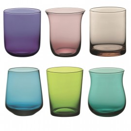Set de 6 vasos de desigual