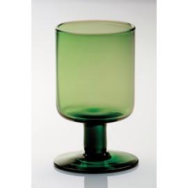 Copa de vino verde de bitossi