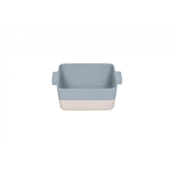 Fuente de horno gris-crema Bitossi 25.5 x 25.5 cm
