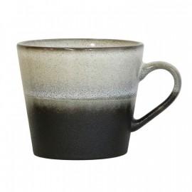 Mug capuccino de  cerámica  hk living 300 ml.