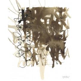 """Lámina """"end y beginning"""" de ylva skarp 40x50 cm."""