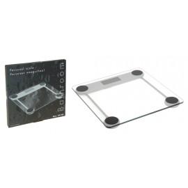Báscula de baño en cristal de 30*30cm