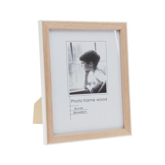 Portafotos de madera de 22x17cm