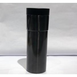 Vaso modern negro