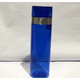 Botella azul de deporte