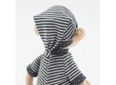 Mono baby de peluche con pijama 35cm