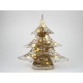 Pino de navidad con 20 led de 40 cm