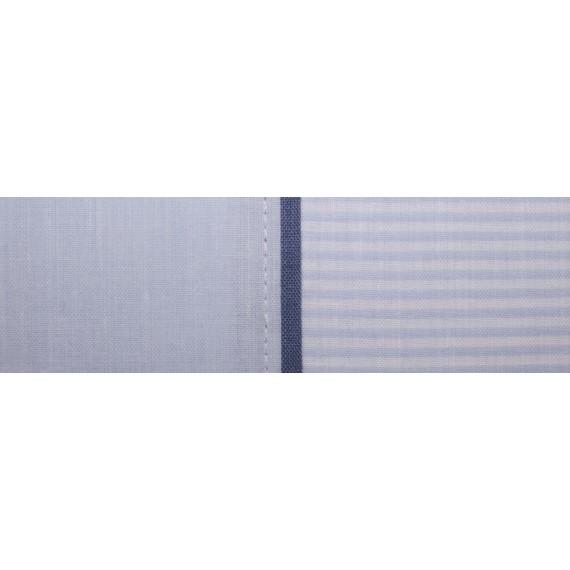 Juego de sábanas azul Cambridge cama 150 cm