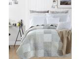 Boutí beige Delia para cama 150 cm