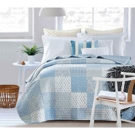 Boutí azul Delia cama 150 cm