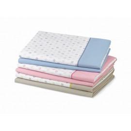 Juego de sábanas rosa Pennsylvania cama de 90 cm