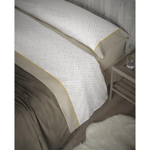 Juego de sábanas beige pennysilvania cama 150 cm