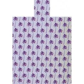 Poncho rosa y lila de BaliTowel S-M