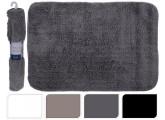 Alfombra de baño color negro 60x90 cm