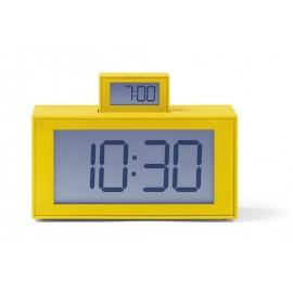 Despertador Lexon Inout amarillo