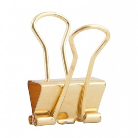 Bolsa de clips oro House Doctor 20 mm