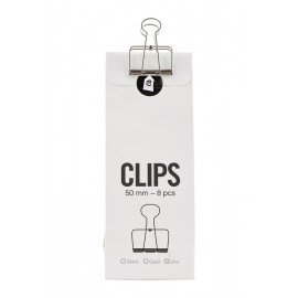 Clips con pinza zinc House Doctor 50 mm