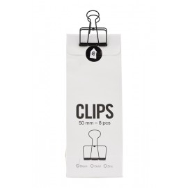 Clips con pinza negra House Doctor 50 mm