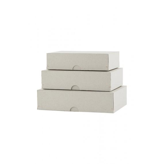 Set de 3 cajas rectangulares House Doctor