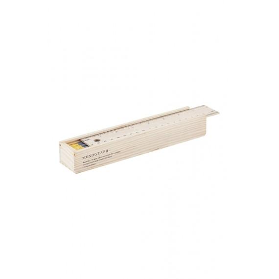 Estuche de madera House Doctor de 12 lápices