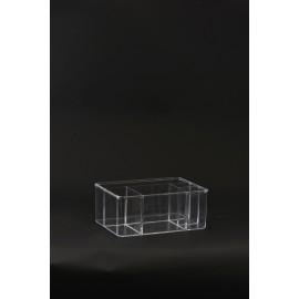 Organizador transparente House Doctor 25x18x10 cm