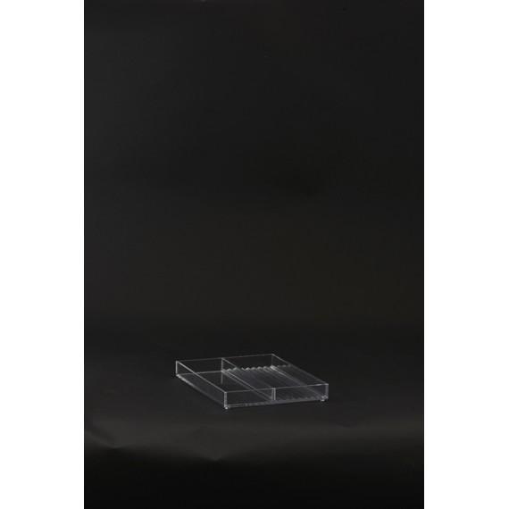 Organizador transparente House Doctor 20,6x16,5x2,5 cm