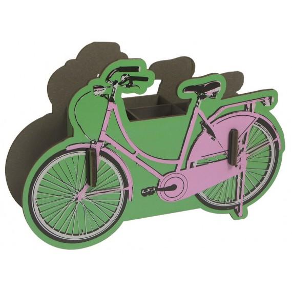 Bicicleta portalápices