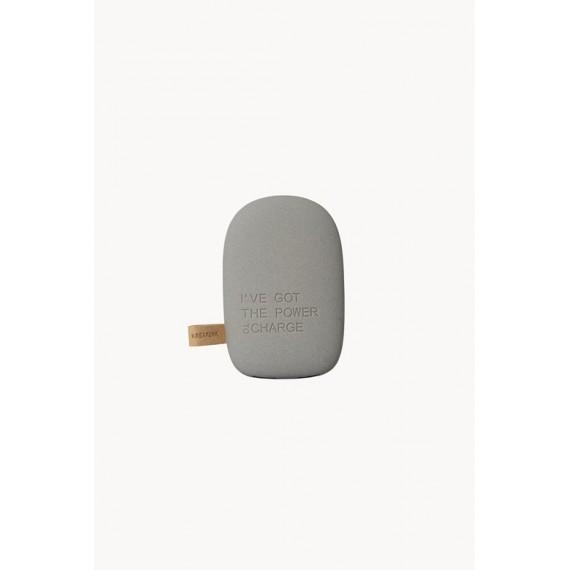 Cargador de batería Kreafunk toCharge gris oscuro