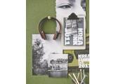 Auriculares Kreafunk aHead inalambricos color ciruela