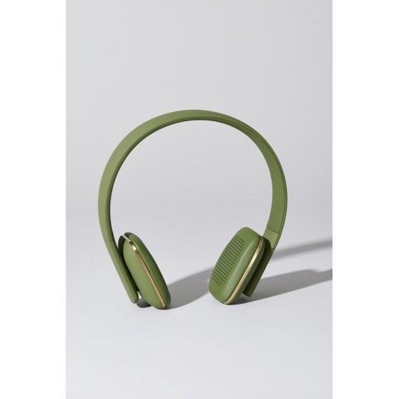 Auriculares Kreafunk aHead inalambricos verdes
