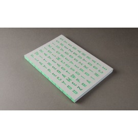 Cuaderno Happily Ever Paper Crypto verde 17x24cm