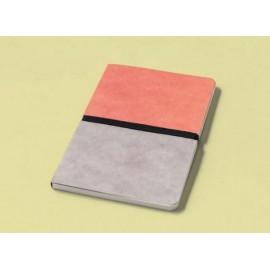 Libreta Happily Ever Paper Divido rosa-gris 12x16,5 cm