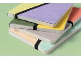Libreta Happily Ever Paper Divido amarillo-morado 12x16,5 cm