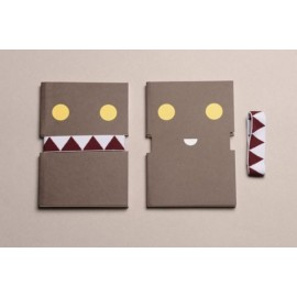 Libreta Happily Ever Paper Incognito marrón 13x19 cm