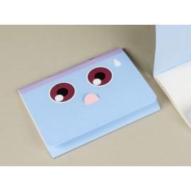 Cuaderno Happily Ever Paper Mímica azul 12x16cm