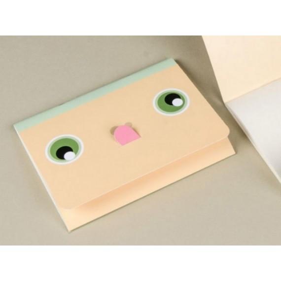 Cuaderno Happily Ever Paper Mímica naranja 12x16cm
